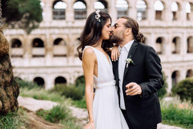 Wedding in Historical castel in Rome, Castello di Tor Crescenza by Vera Weddings - 012