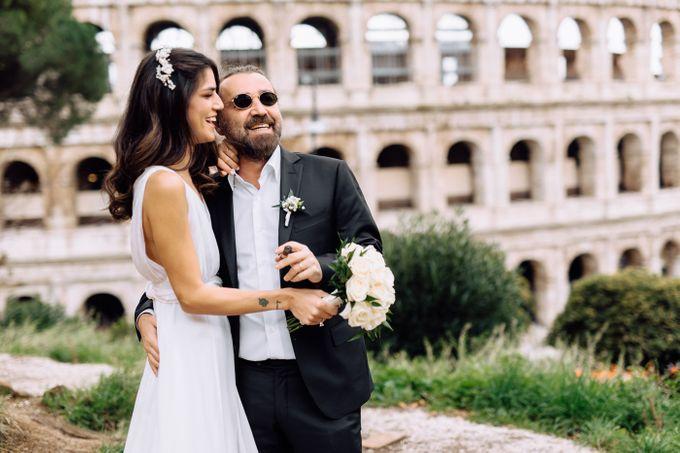 Wedding in Historical castel in Rome, Castello di Tor Crescenza by Vera Weddings - 013