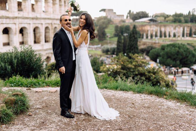 Wedding in Historical castel in Rome, Castello di Tor Crescenza by Vera Weddings - 014