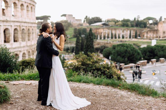 Wedding in Historical castel in Rome, Castello di Tor Crescenza by Vera Weddings - 015