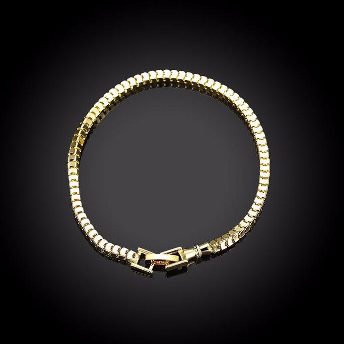 TIARIA Chain Gold Bracelet Perhiasan Gelang Emas by TIARIA - 005