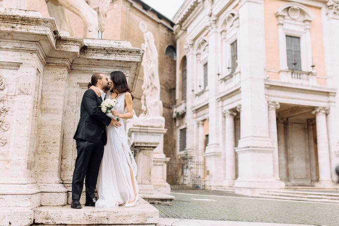 Wedding in Historical castel in Rome, Castello di Tor Crescenza by Vera Weddings - 016