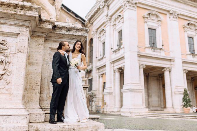 Wedding in Historical castel in Rome, Castello di Tor Crescenza by Vera Weddings - 017