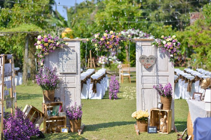Purple Wedding by Mira Mi Bali Wedding - 004