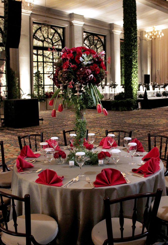 John and Xuan Wei Wedding Reception by Amarillis Floral and Party Decorator - 005