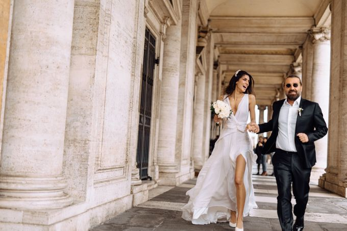 Wedding in Historical castel in Rome, Castello di Tor Crescenza by Vera Weddings - 018