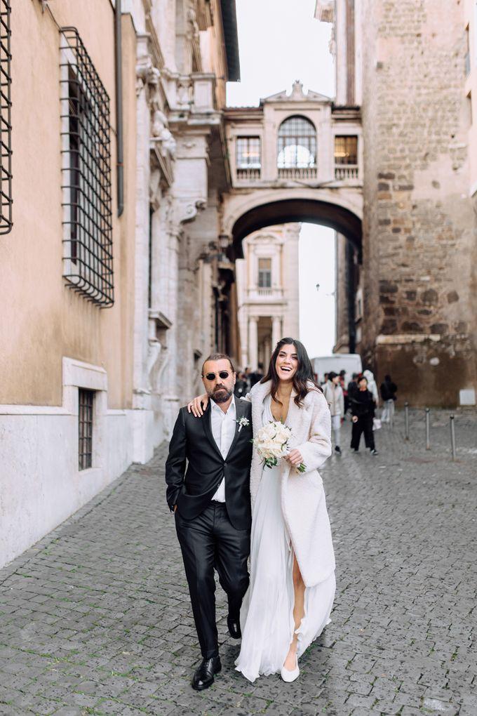 Wedding in Historical castel in Rome, Castello di Tor Crescenza by Vera Weddings - 039