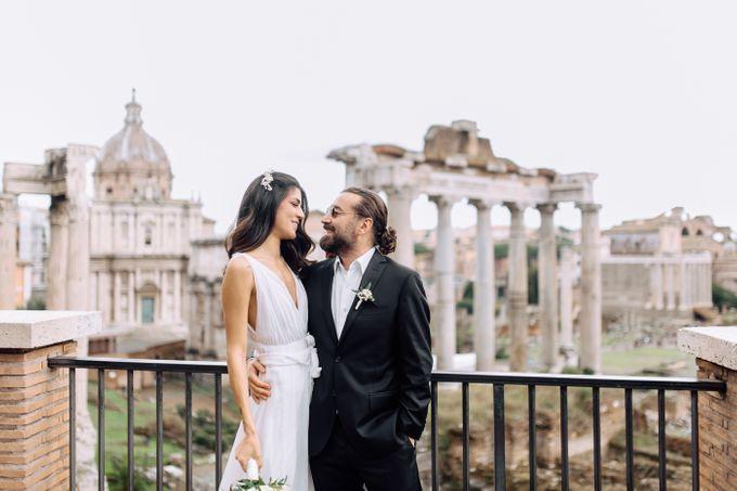 Wedding in Historical castel in Rome, Castello di Tor Crescenza by Vera Weddings - 040