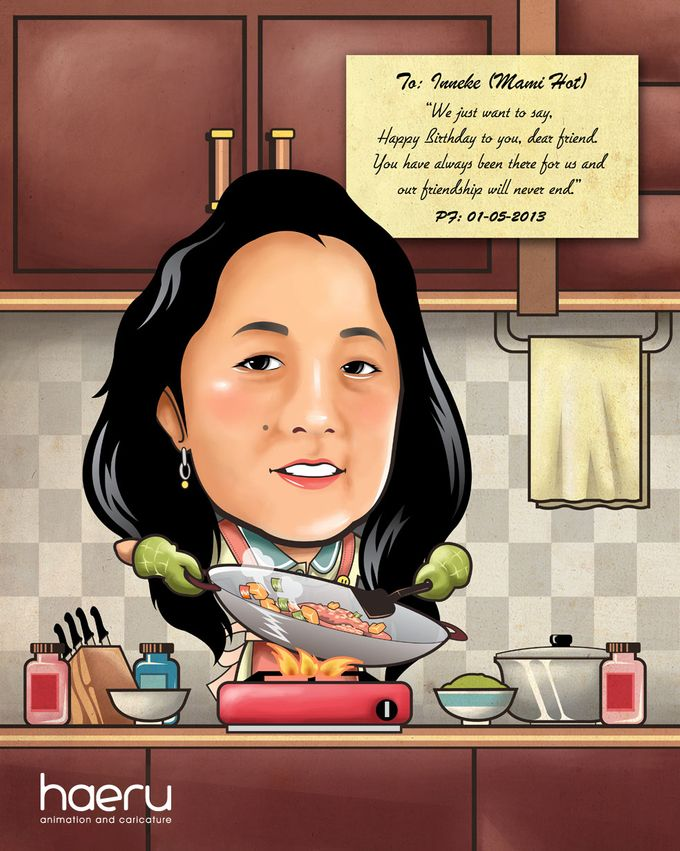 Premium Caricature for Gift by haeru Animation and Caricature - 004