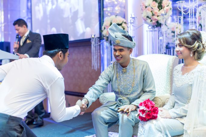 Malay Wedding Extraordinaire Celebration - Daniaal & Suhaila by Born2talk - 007