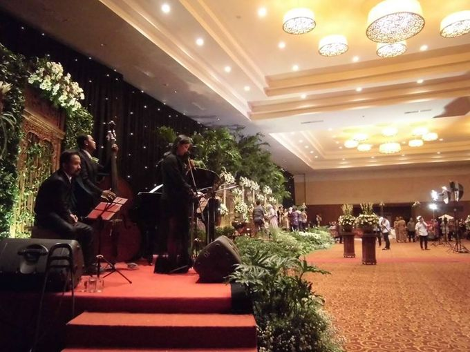 Sasana Kriya Carani Ballroom Anin Ardian Wedding Reception By