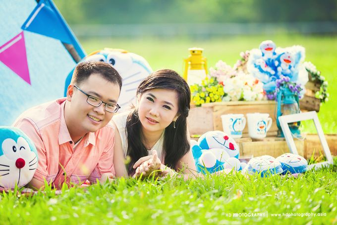 Eko & Sanyeni - Pre wedding by HD Photography - 003