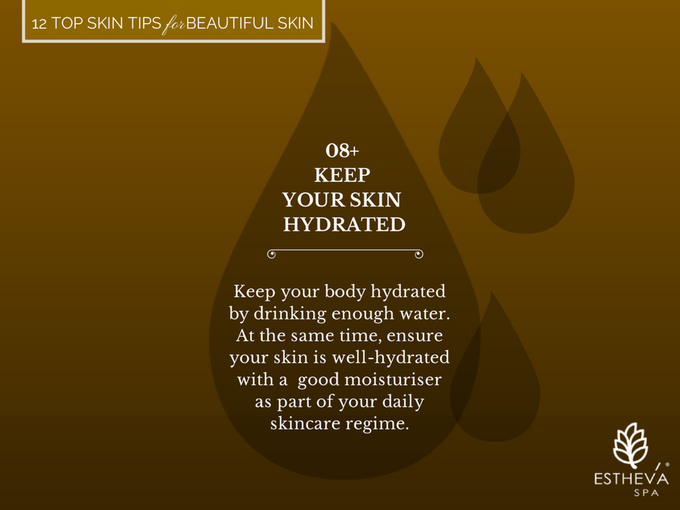 Top 12 Skincare Tips for Beautiful and Younger Skin by ESTHEVA Spa - 009