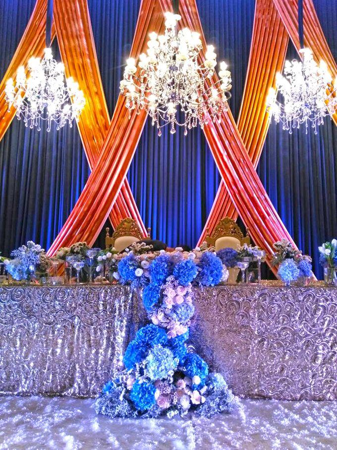 Midnight Blue theme Wedding by ZURIEE AHMAD CONCEPTS SDN BHD - 008