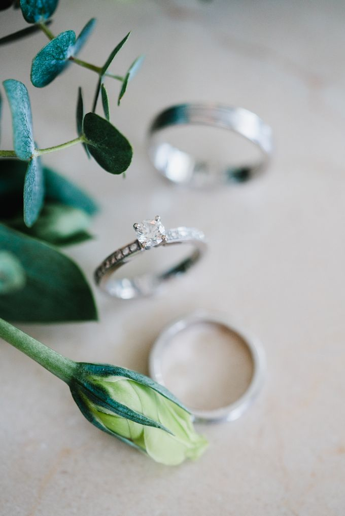 An Emerald  Green themed wedding of Phillip and Grace by Peach Frost Studio - 002