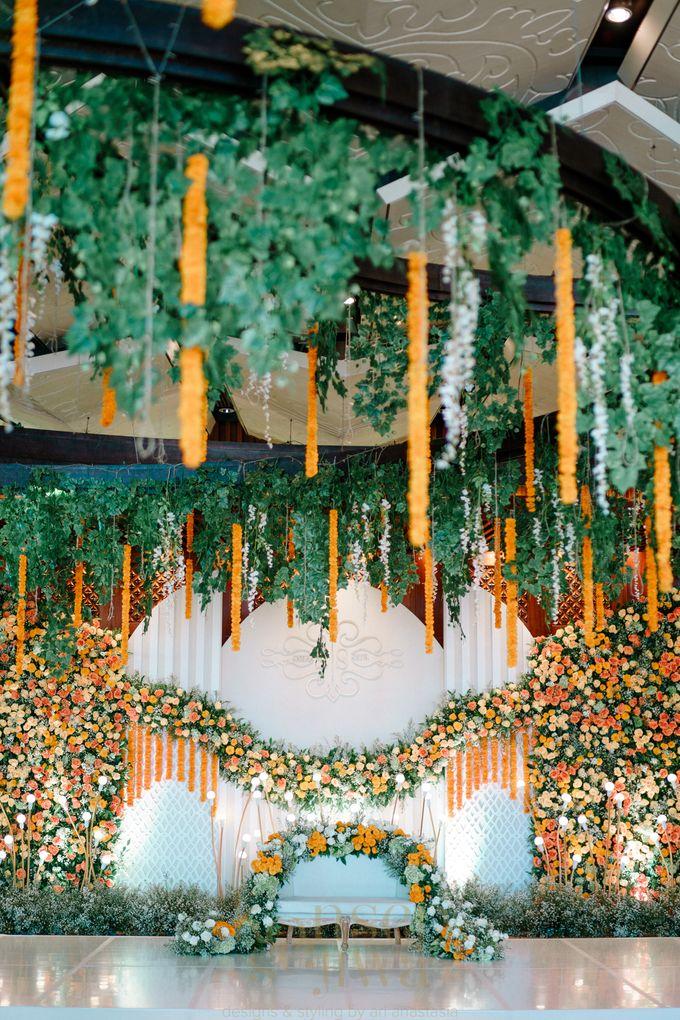 Beautifully Indian Wedding by Konsep Sejiwa - 003
