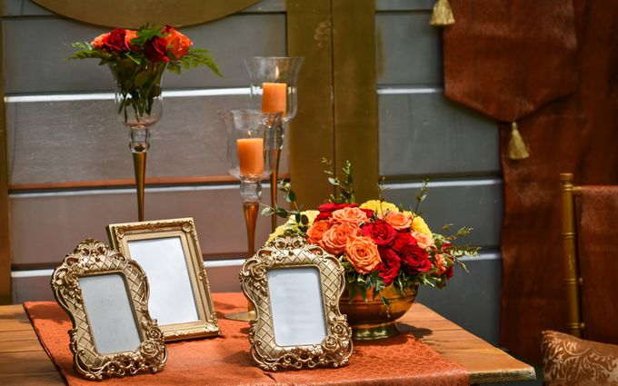 Minangkabau Traditional wedding set up at The Glass House by Tirtha Bridal - 009