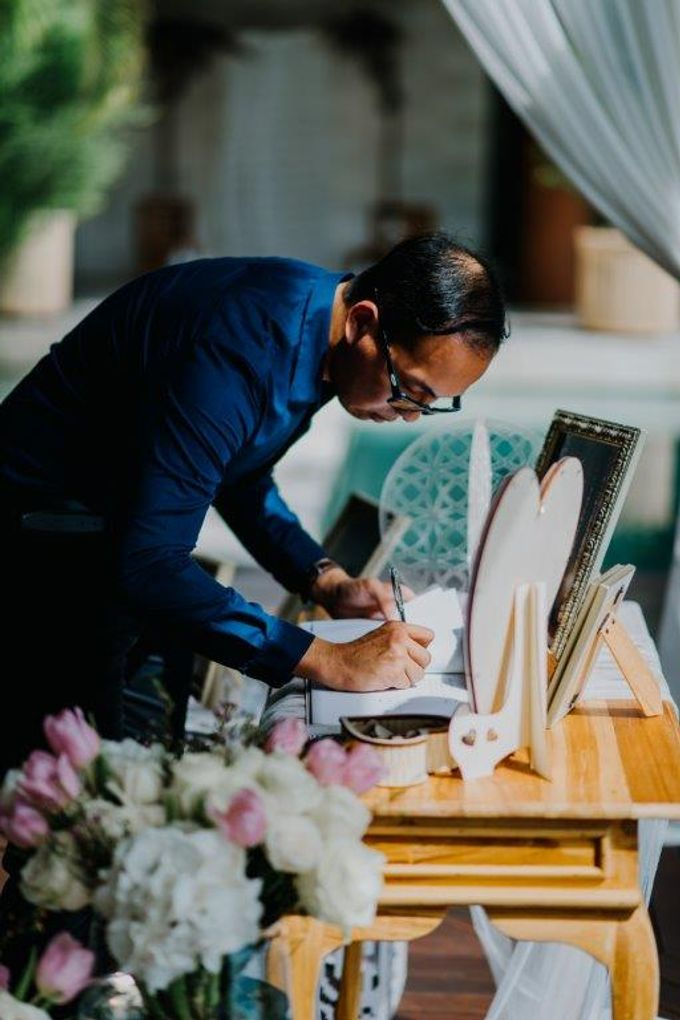 The Wedding of Larrie & Vivienne by BDD Weddings Indonesia - 009