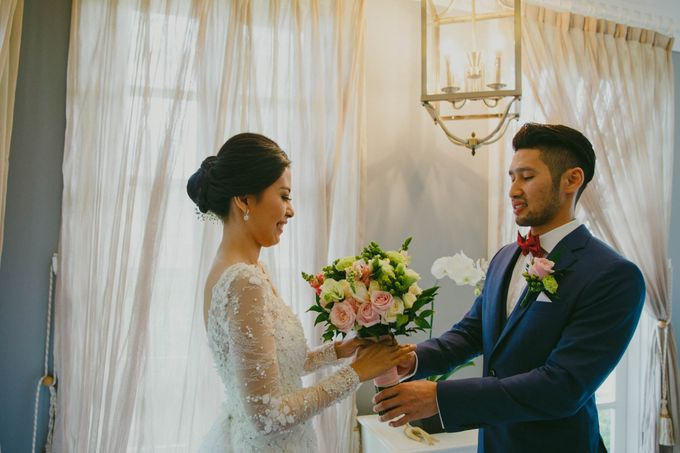 RUSTIC WEDDING DAVID AND JOICE IN SKY AYANA BALI by W organizer - 015