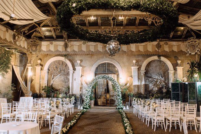 Wedding in Historical castel in Rome, Castello di Tor Crescenza by Vera Weddings - 020