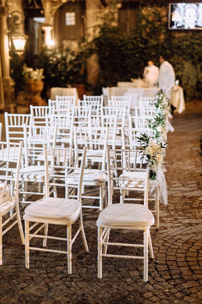 Wedding in Historical castel in Rome, Castello di Tor Crescenza by Vera Weddings - 021