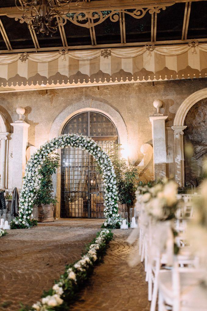 Wedding in Historical castel in Rome, Castello di Tor Crescenza by Vera Weddings - 023