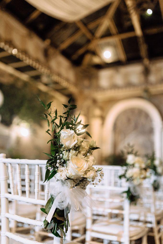 Wedding in Historical castel in Rome, Castello di Tor Crescenza by Vera Weddings - 025