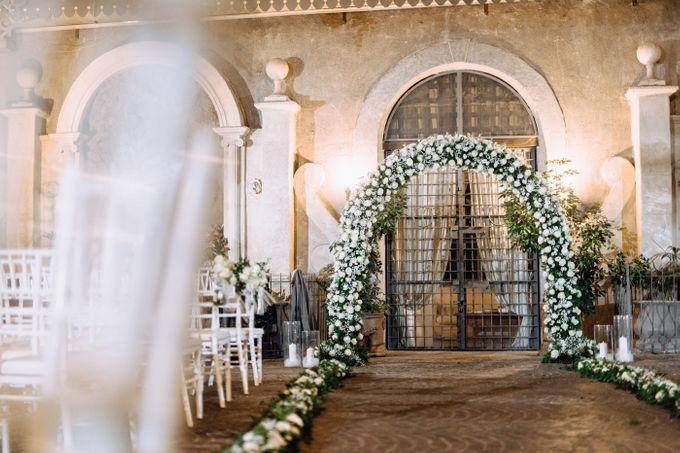 Wedding in Historical castel in Rome, Castello di Tor Crescenza by Vera Weddings - 026