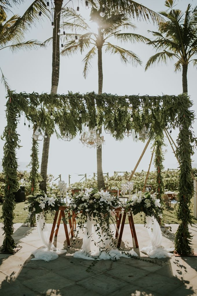 Bali Greenery Rustic with Boho Touch Wedding Decoration by Eurasia Wedding - 011