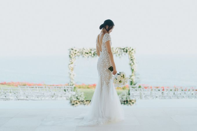 CA & Sebastian Wedding by THE UNGASAN CLIFFTOP RESORT BALI - 001