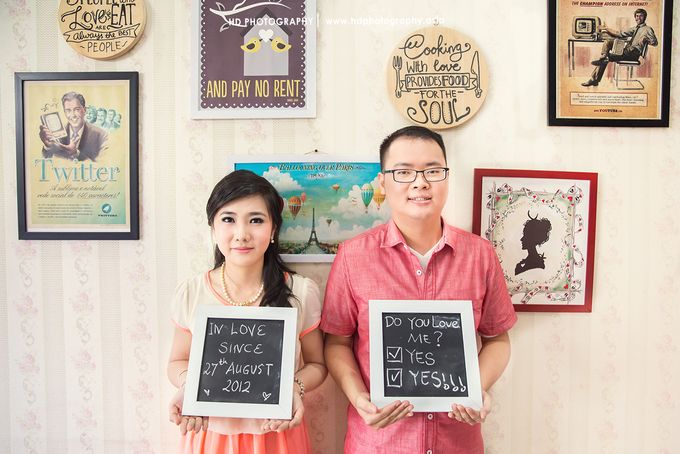 Eko & Sanyeni - Pre wedding by HD Photography - 005