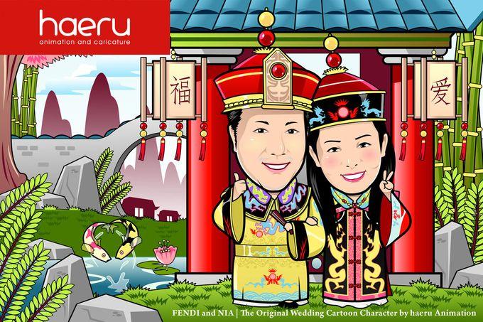 Premium Wedding Caricature by haeru Animation and Caricature - 003