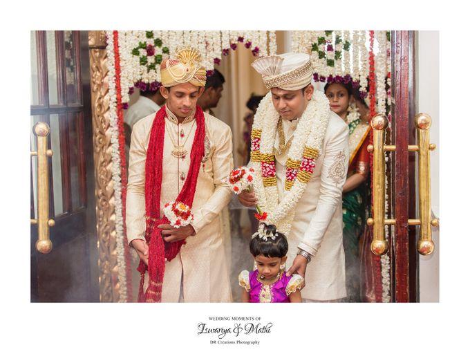 Wedding of Ishwariya & Mathi by DR Creations - 009