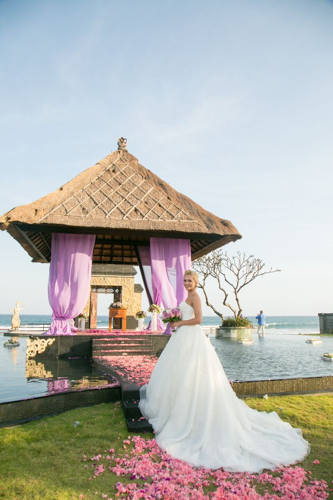 Purple wedding by Bali Angels - 017
