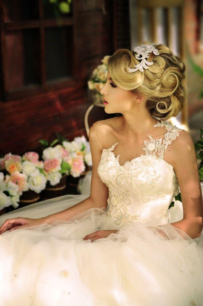 European Wedding Dresses by Gester Bridal & Salon Smart Hair - 002