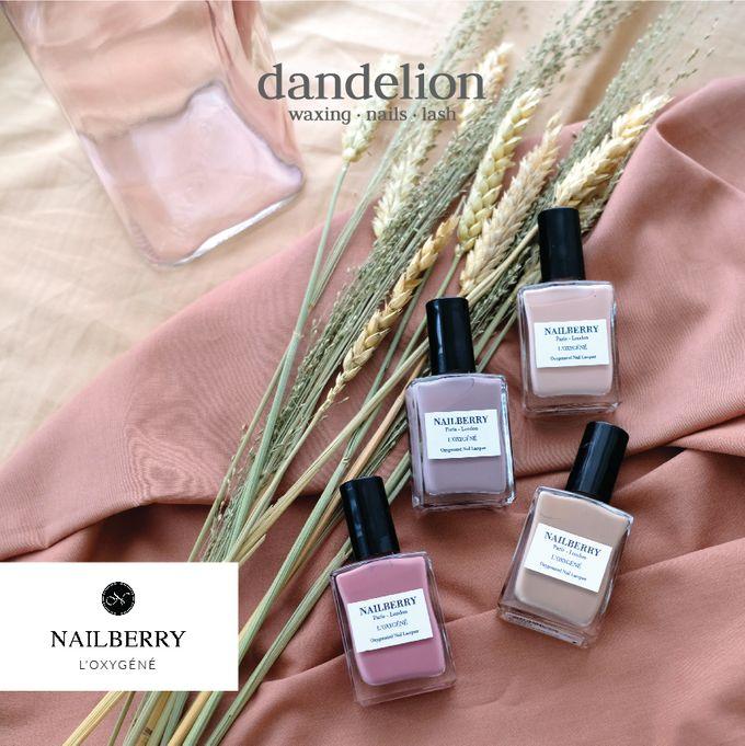 Nailberry - Award-winning Non-Toxic Breathable Nail Polish by Dandelion ID - 004