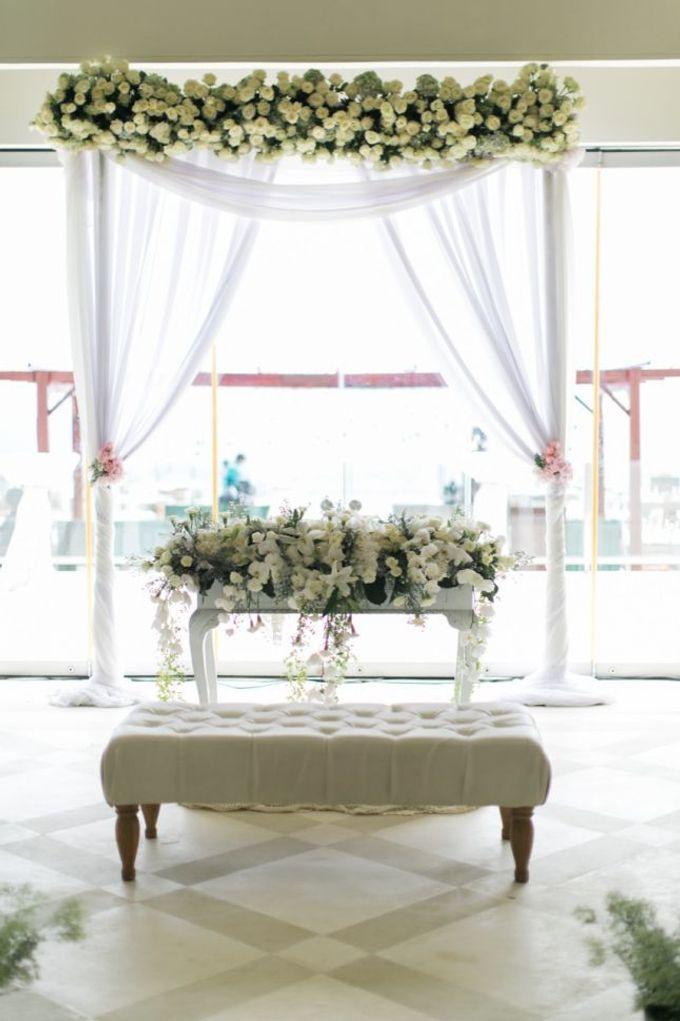 Ferry & Cynthia Wedding Decor by AiLuoSi Wedding & Event Design Studio - 001