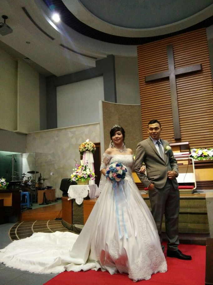 Peter and Widia Wedding by Adel's House of card - 003