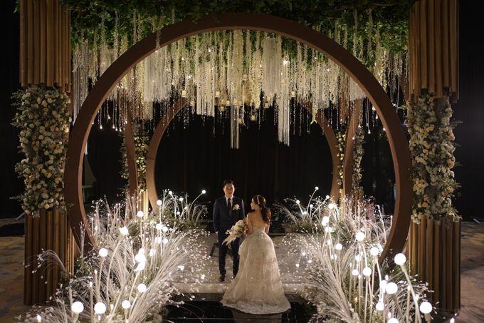 Alvin & Natasha Wedding by Philip Formalwear - 044