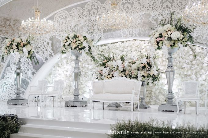The Wedding of Hananto & Choerunissa by Butterfly Event Styling - 001