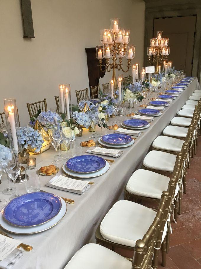 A blue wedding by C&G Wedding and Event Designer - 009