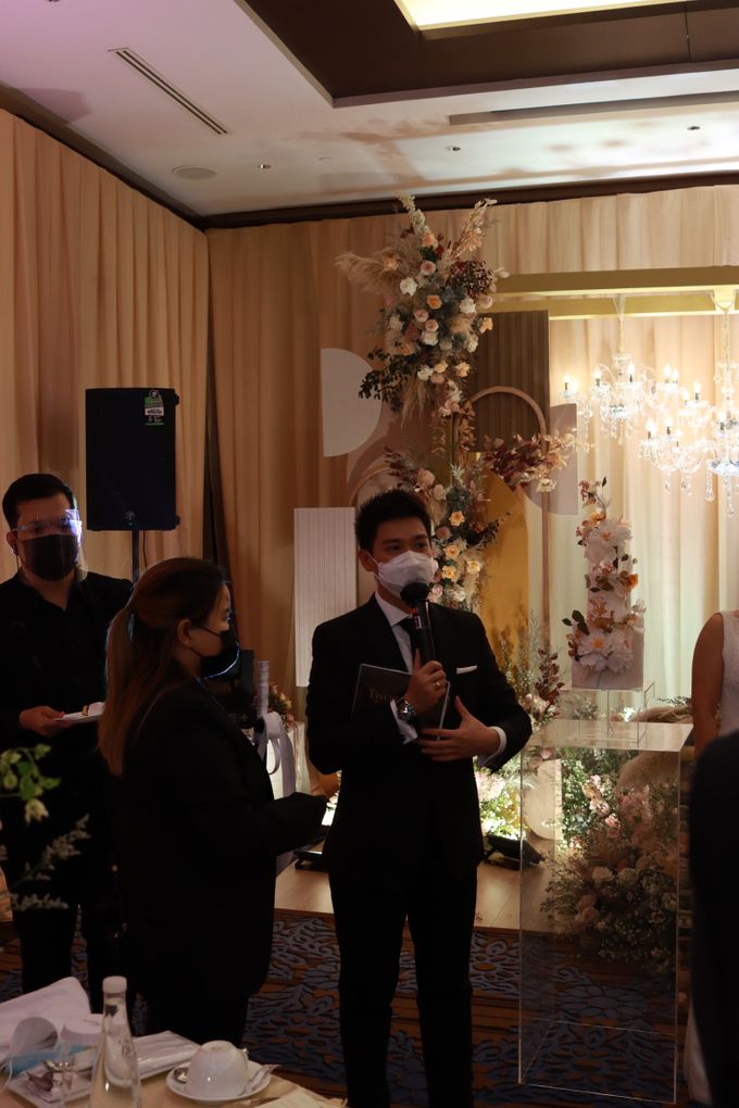 MC Wedding Intimate at Jade Room Fairmont Hotel Jakarta by Anthony Stevven by Anthony Stevven - 019