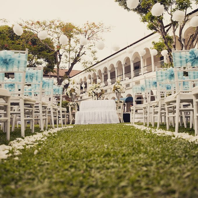 Garden Wedding of Ricky & Inggrid by All Occasions Wedding Planner - 004