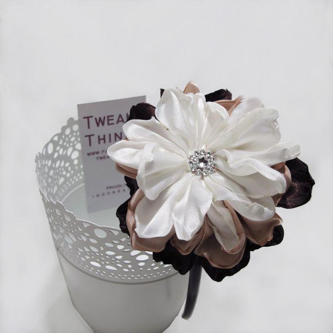 Fabric flower - Headband by TweakyThings - 007