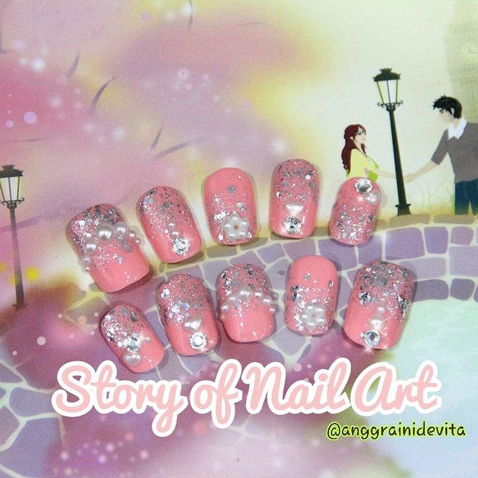 Fake Nails by Story of Nailart - 005