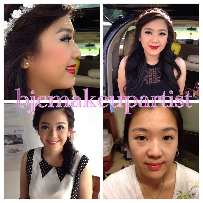 Before & After Prewedding Makeup by bjcmakeupartist - 003