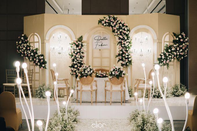 The Wedding Of Della and Fabian by Elior Design - 007