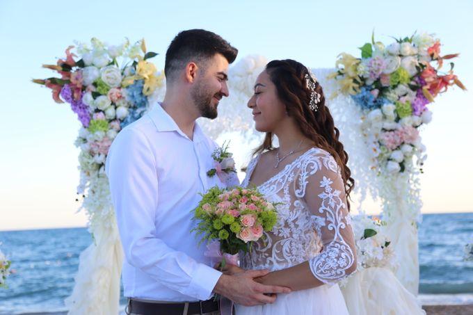 Civil Marriage Ceremony for Australian couple by Wedding City Antalya - 010