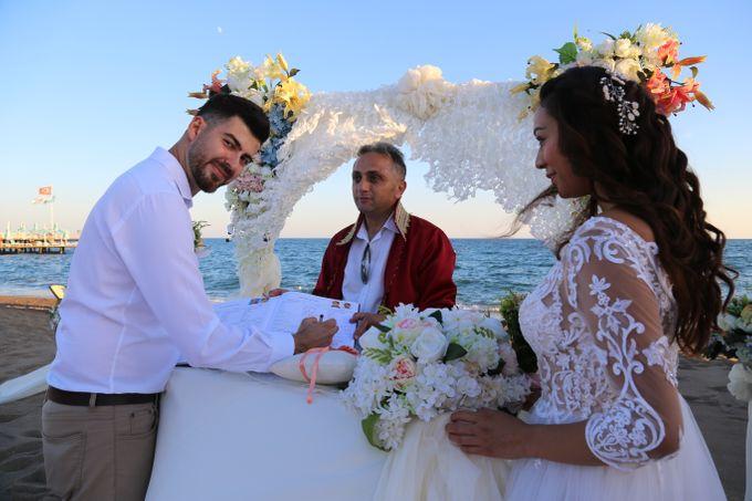 Civil Marriage Ceremony for Australian couple by Wedding City Antalya - 011