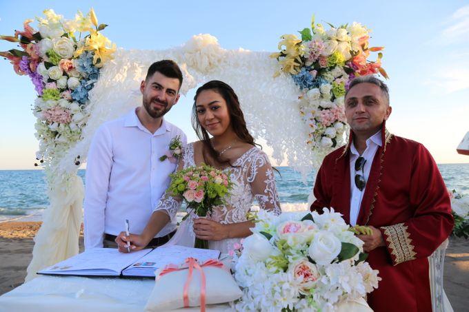 Civil Marriage Ceremony for Australian couple by Wedding City Antalya - 012